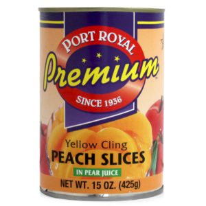 Peach Slices 15oz (50 Haven)