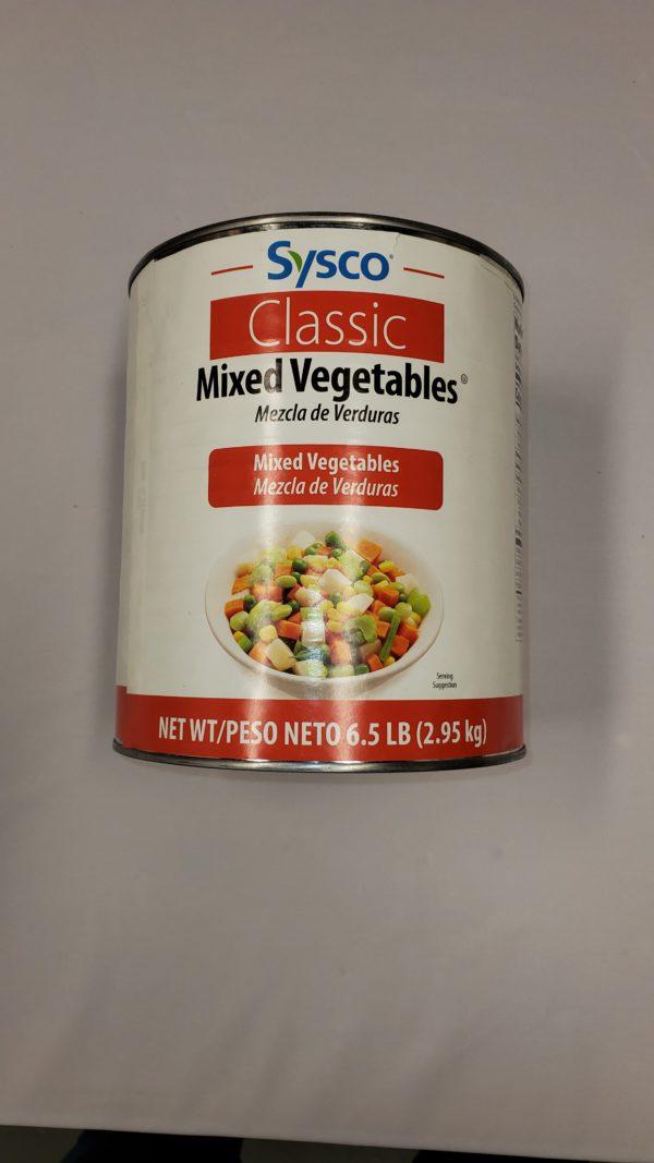 [ONE PER HOUSEHOLD] Sysco Mixed Vegetables - 106 oz