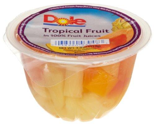 Dole Tropical Fruit in 100% Fruit Juice - 4 oz