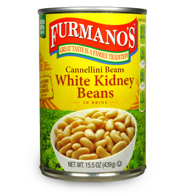Furmano's White Kidney Beans - 15.5 oz