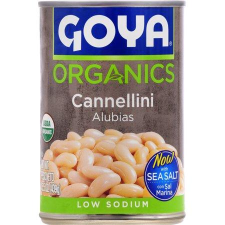Goya Organics Cannellini - 15.5 oz