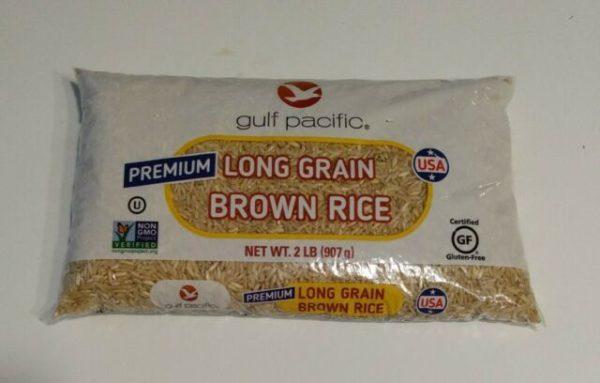 Gulf Pacific Premium Long Grain Brown Rice - 1 lb
