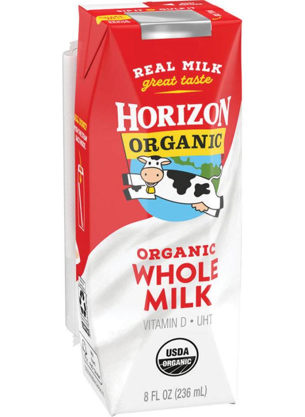 Horizon Organic Whole Milk - 8 oz