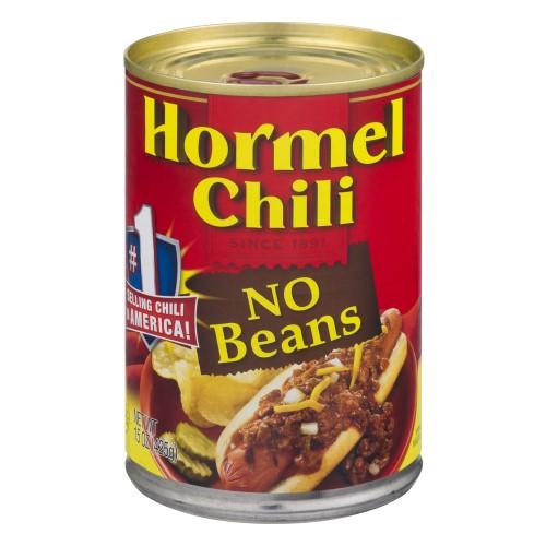 Hormel No Beans Chili - 15 oz