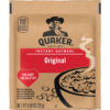 Quaker Instant Oatmeal Original - .98 oz