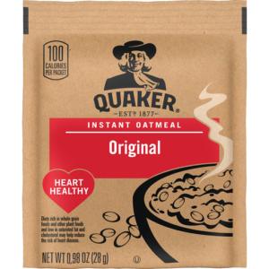 Quaker Instant Oatmeal Original – .98 oz