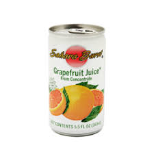Sahara Burst Grapefruit Juice from Concentrate – 5.5 oz (Lerner)