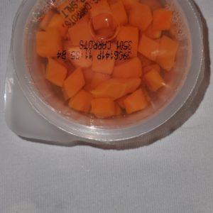Diced Carrots in Natural Juice 4 oz (Lerner)