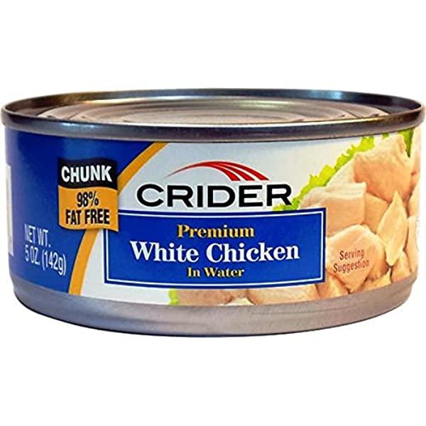 Crider Deluxe White Chicken in Water
