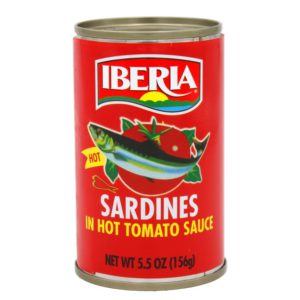 [DONATION] Iberia Sardines in hot tomato sauce (50 Haven)