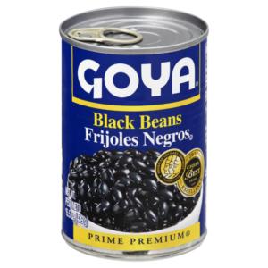 Goya Black Beans – 15 oz. (Lerner)