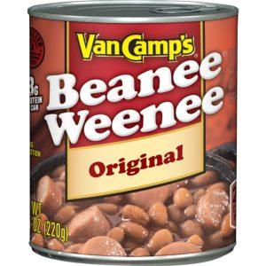 Van Camp's Beanee Weenee Original – 7.75 oz – Lerner