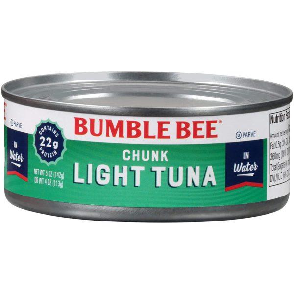 Bumble Bee Chunk Light Tuna in water 5 oz. (Lerner)