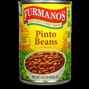 Furmano's Pinto Beans – 15.5 oz (Lerner)