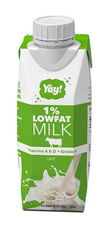 Yay Lowfat Milk 8oz