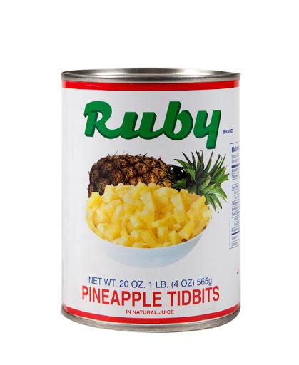 Ruby Pineapple Tidbits
