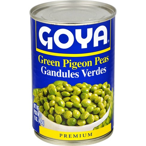 Goya Green Pigeon Peas 15.5oz (Lerner)