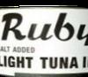 Ruby Light Tuna in Salt Water - 5 oz