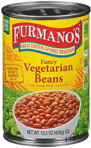Furmano's Fancy Vegetarian Beans in Tomato Sauce - 15.5 oz