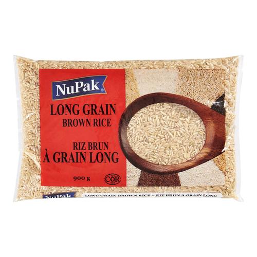 NuPa Long Grain Brown Rice - 2 lb