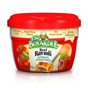 Chef Boyardee Beef Ravioli in Tomato & Meat Sauce – 7.5 oz (Lerner)