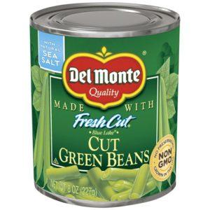 Del Monte Fresh Cut Green Beans – 8 oz (Lerner)