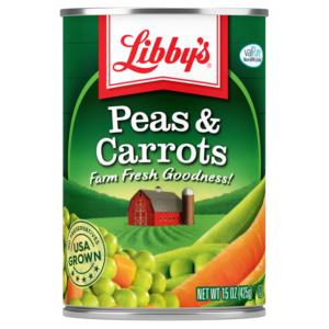 Libby's Peas & Carrots - 15 oz